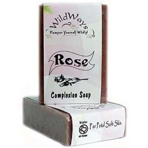 Rosewood Complexion Fine Herbal Handmade Shea Butter Soap