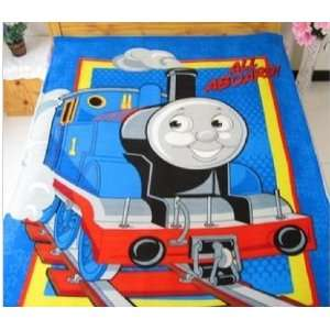 Middle size baby kid child gift Thomas the Tank Engine Bed Fleece Baby