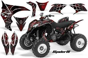 HONDA TRX 700 GRAPHICS KIT DECALS STICKERS SPIDERX RED