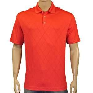 Nike Tiger Woods Golf Polo Shirt Light Red Size Large