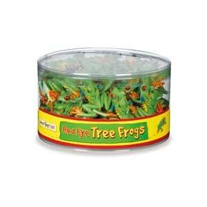 Safari 262029 Red Eye Tree Frogs in Bin Animal Figure