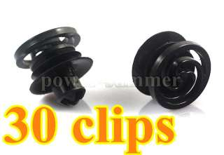 30 Clips VW Volkswagen GOLF JETTA MK4 PASSA DOOR TRIM PANEL RETAINER