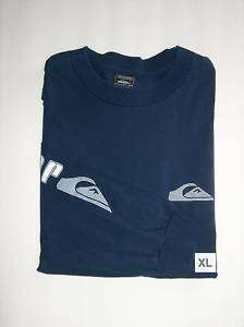 QUIKSILVER TEE LONG SLEEVE MENS TSHIRT SIZE XL NEW