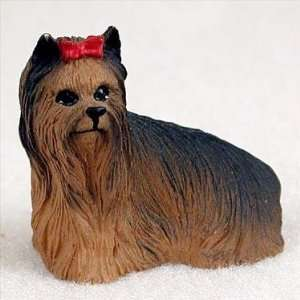 Yorkshire Terrier Miniature Dog Figurine