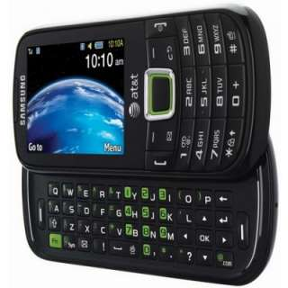 New Samsung SGH A667 Evergreen   Black (AT&T) Smartphone 635753484908