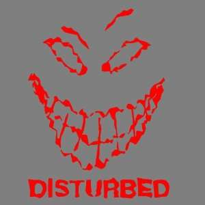 DISTURBED (RED) DECAL STICKER WINDOW CAR TRUCK TRAILER Automotive