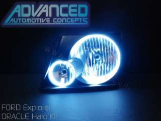 02 05 Ford Explorer Headlight hid HALO Angel/Demon Eyes