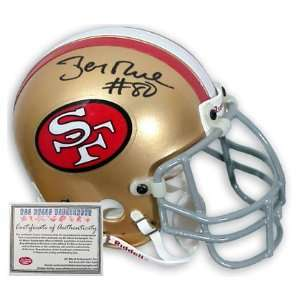Jerry Rice Autographed Full Size Proline 49ers Helmet