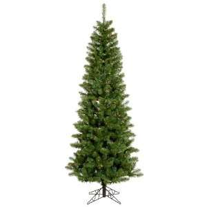 8.5 Pre Lit Salem Pine Pencil Artificial Christmas Tree