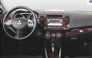 MITSUBISHI OUTLANDER LS INTERIOR WOOD DASH TRIM KIT SET 2003 2004 2005