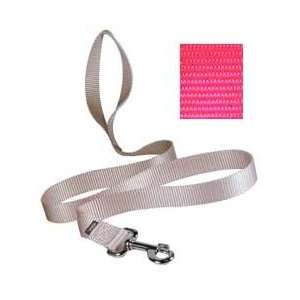 Quick Snap Leash   Wide 6 Foot Hot Pink