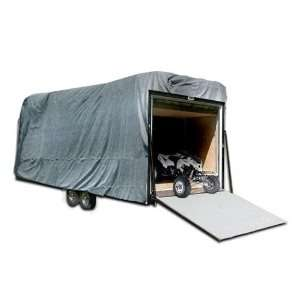 Premium Toy Hauler Cover   28   32   Grey Everything