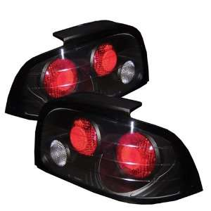 Ford Mustang 96 97 98 Altezza Tail Lights   Black (Pair