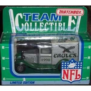 Philadelphia Eagles 1990 Matchbox/White Rose NFL Diecast Ford Model A