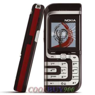 NEW UNLOCKED NOKIA 7260 BLACK GSM CELL PHONE MOBILE