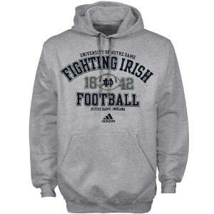 adidas Notre Dame Fighting Irish Ash Gut Check Football