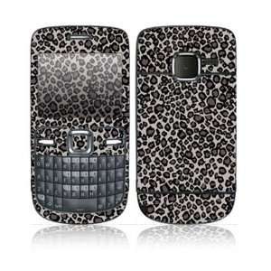 Grey Leopard Design Protective Skin Decal Sticker for