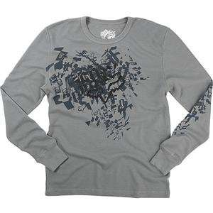 Fox Racing Rockstar Long Sleeve Thermal   X Large/Grey