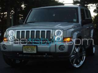 2005 09 Jeep COMMANDER hid Headlight HALO/Demon Eye Kit