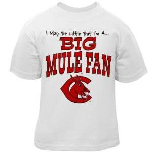 NCAA Central Missouri Mules Infant White Big Fan T shirt