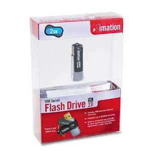 imation Products   imation   Swivel USB Flash Drive, 2GB
