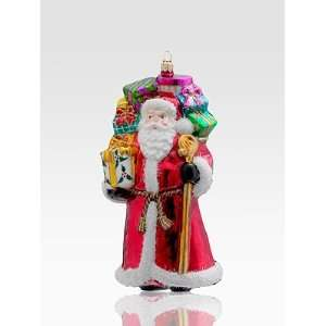 Kurt Adler Polonaise Venerable Santa Glass Ornament