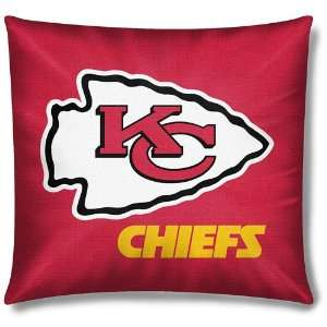Kansas City Chiefs NFL Team Toss Pillow (18x18)  Sports