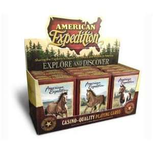 New American Expedition Horse Playing Card Assortment