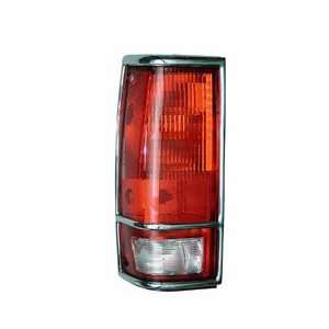 TAIL LIGHT LENS    RIGHT    CHEVY S10 / S15 W/TRIM Automotive