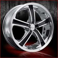 20 inch VCT Massino chrome wheels Rims 5x108 5X4.25 +40
