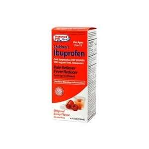 Ibuprofen child oral suspension pain reliever fever reducer, berry