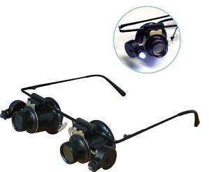 MAGNIFIER GLASS MAGNIFYING ILLUMINATED JEWELERS LOW VISION AID