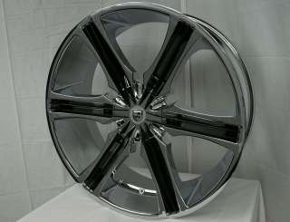 26 Inch Lexani Arrow Wheels Rims 305/30 Tires 6x5.5