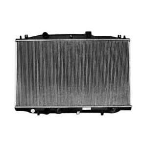 Honda Accord 1 Row Plastic Aluminum Replacement Radiator Automotive