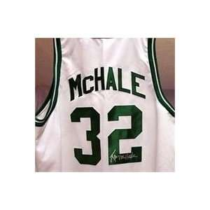 Kevin McHale Home White Celtics Autographed/Hand Signed Jersey