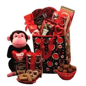 Wild About You Valentines Day Gift Bag for Him or Her