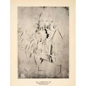 Pablo Picasso Sacre Coeur Basilica Paris Church Abstract Modern Art
