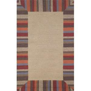 /Outdoor Hand Tufted Area Rug Beach Comber 8 Square Tobacco Carpet