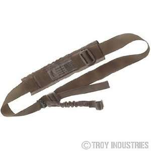 Troy Industries   One Point BattleSling USMC Coyote Tan