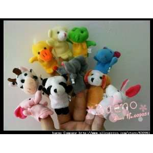 300 pcs lot animal finger puppets animal finger doll novel