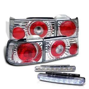 Eautolight 90 91 Honda Accord 4 Door Tail Lights + LED