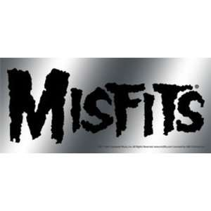 Misfits   Foil Logo   Large Bumper Sticker / Decal