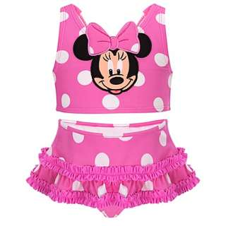 NWT~ POLKA DOT MINNIE MOUSE SWIMSUIT~SZ 5T