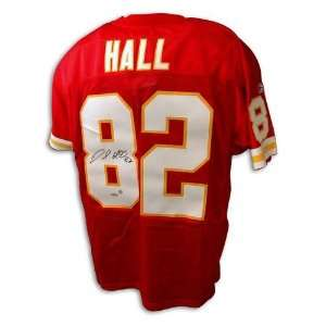 Dante Hall Kansas City Chiefs Autographed Reebok NFL