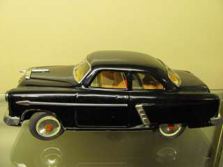 VINTAGE ANTIQUE TIN BATTERY TOY CAR 1953 FORD CROWN VIC KOSUGE MARUSAN