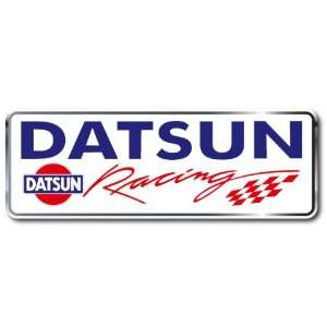 Datsun Racing Car Bumper Sticker Decal 6.5x2.5
