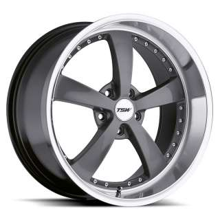 18 TSW STRIP GUNMETAL RIMS WHEELS BMW 325XI 328XI