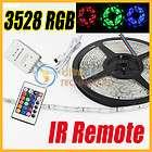 GREEN Waterproof Flexible Strip 300 LED Light and 24key remote control