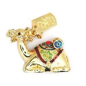 8GB New Crystal Camel Style USB Flash Drive with Necklace Electronics