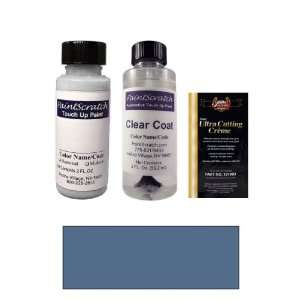 Oz. Ocean Blue Metallic Paint Bottle Kit for 1987 Porsche All Models